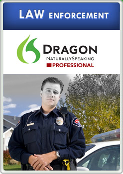 dragon naturally speaking law enforcement product