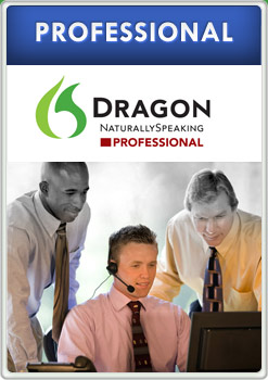 dragon naturally speaking professional product